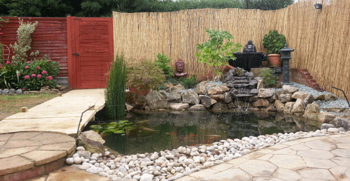 Pond design and construction essential ponds water for Garden pond design and construction