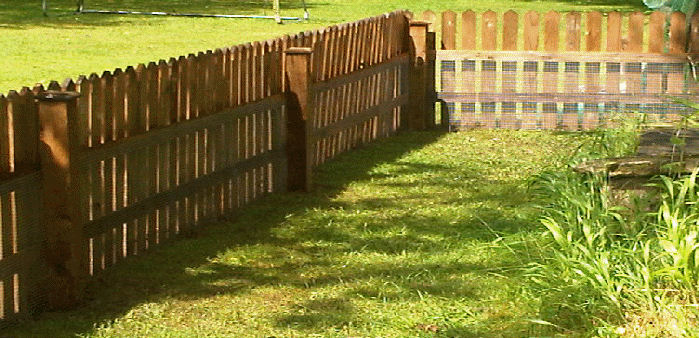 Image Result For Low Garden Fencing